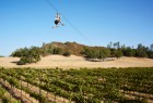 New for 2014 - the Pinot Express, an epic 1,800-foot aerial ride that swoops over a Pinot Noir vineyard on the historic Santa Margarita Ranch.