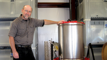 Steve Autry has been making wine for over a decade.