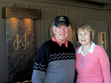 Jim and Janis Judd have been growing grapes in Paso Robles for 12 years.