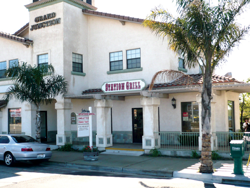 """The Station Grill restaurant in Grover Beach, housed in the """"Grand Junction"""" building just steps from the railroad tracks and catty-corner from the train station, serves up home-cooked meals seven days a week."""