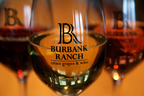 Fred and Melody Burbank, owners of Burbank Ranch Winery, tapped winemaker Steve Anglim to craft their wines; the wines have that 'Anglim touch' — elegant, with balanced acidity and luscious fruit notes.