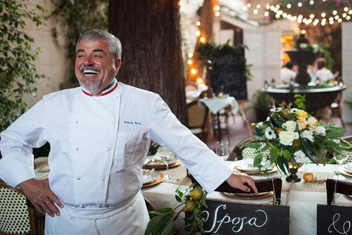 Chef-Owner Antonio Varias
