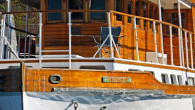 Wooden WW2 yacht
