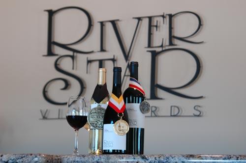 River Star Award Winning wines