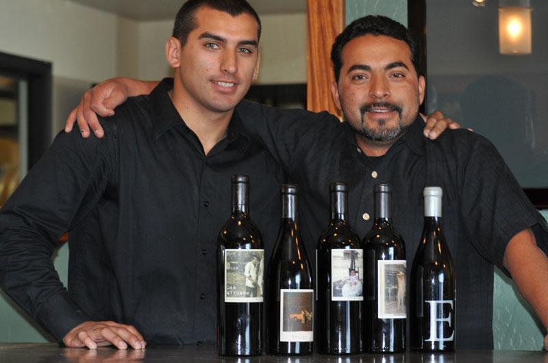 Torres brothers of Bodega de Edgar wines