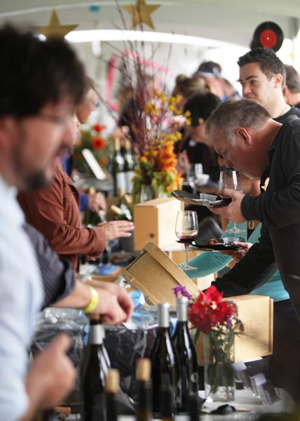 A photo from last year's grand tasting event.