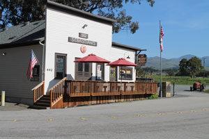 San Simeon tasting room