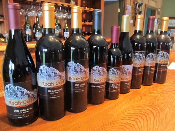 Rocky creek wines