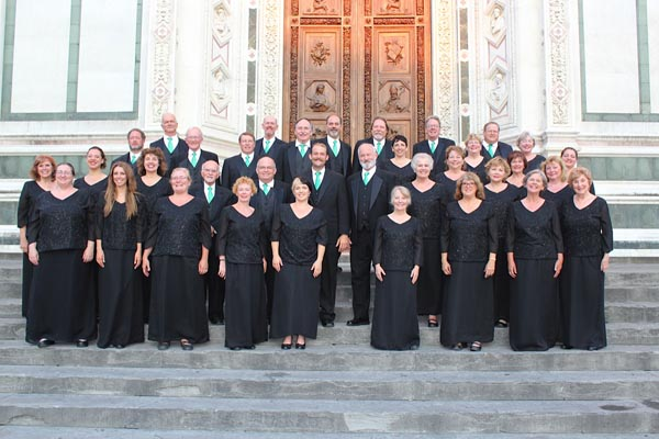 A photo from the Italy tour. Courtesy of the Vocal Arts Ensemble.