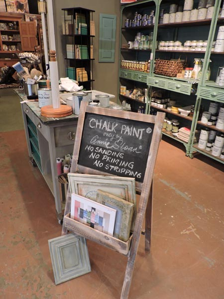 "According to Shoemaker, Chalk Paint products have ""revolutionized the DIY world."" Tackling projects using Chalk Paint is appealing because the products are designed to eliminate the need to sand, strip or prime the project piece."