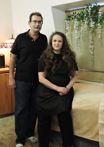 Owners Christa Bennett Thurman and her husband Tom.