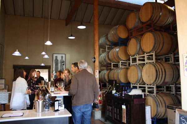 Renovated tasting room san luis obispo wine tasting