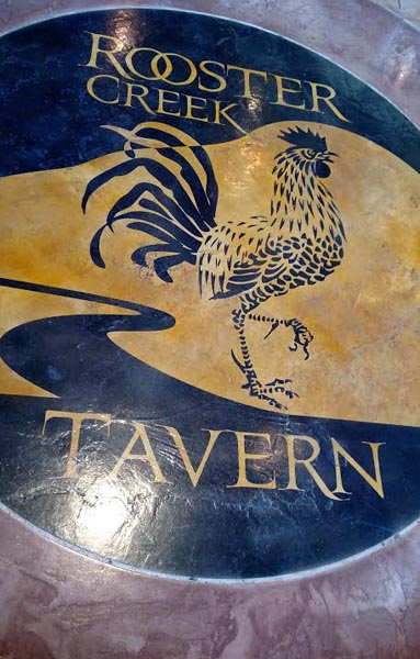 Rooster Creek Tavern Ground Mural