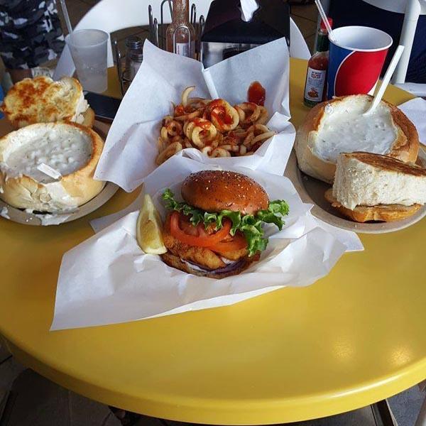 Splash cafe food