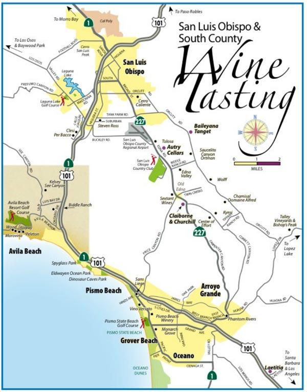 wine tours san luis obispo