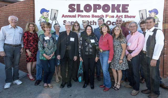 slopoke, art show, pismo beach